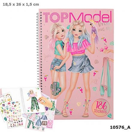 TOP Model Dress Me Up Tropical (NEW)